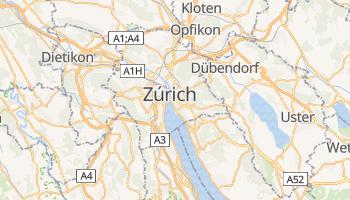 Mapa online de Zúrich