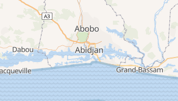 Carte en ligne de Abidjan