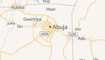 Carte en ligne de Abuja