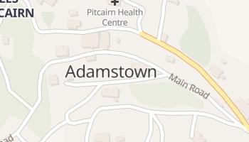 Carte en ligne de Adamstown