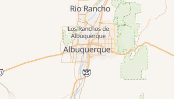 Carte en ligne de Albuquerque