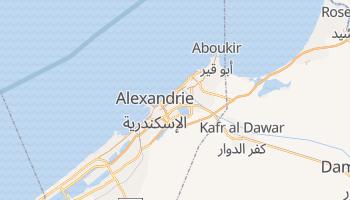 Carte en ligne de Alexandrie