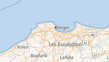 Carte en ligne de Alger