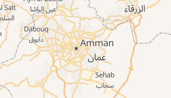Carte en ligne de Amman