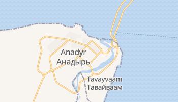 Carte en ligne de Anadyr