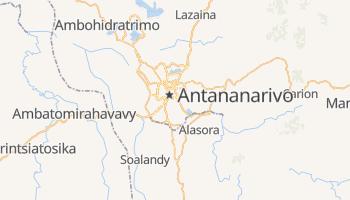 Carte en ligne de Antananarivo