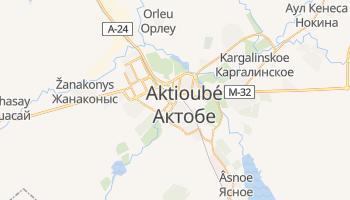 Carte en ligne de Aqtobe