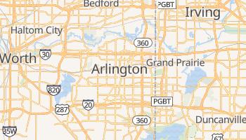 Carte en ligne de Arlington