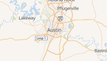 Carte en ligne de Austin