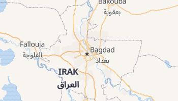 Carte en ligne de Bagdad