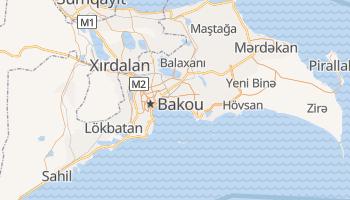 Carte en ligne de Bakou