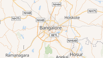 Carte en ligne de Bengaluru