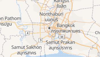 Carte en ligne de Bangkok