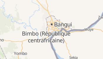 Carte en ligne de Bangui