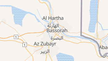 Carte en ligne de Bassorah