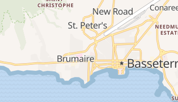 Carte en ligne de Basseterre
