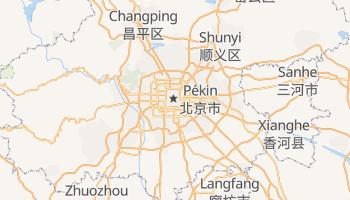 Carte en ligne de Pékin