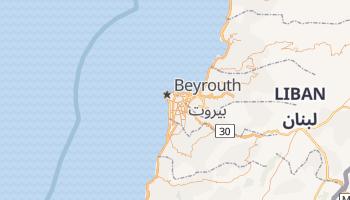 Carte en ligne de Beyrouth