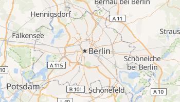 Carte en ligne de Berlin