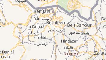 Carte en ligne de Bethlehem
