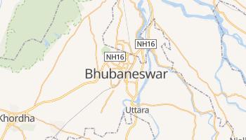 Carte en ligne de Bhubaneshwar
