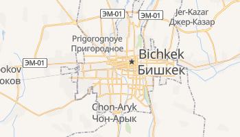 Carte en ligne de Bichkek