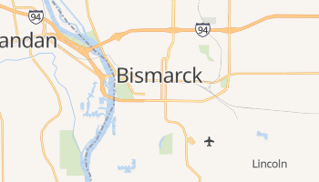 Carte en ligne de Bismarck