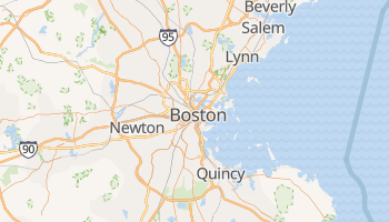 Carte en ligne de Boston