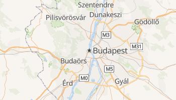 Carte en ligne de Budapest
