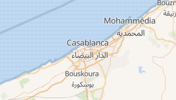 Carte en ligne de Casablanca