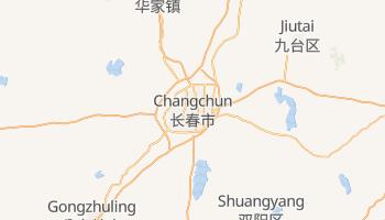Carte en ligne de Changchun