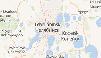 Carte en ligne de Tcheliabinsk