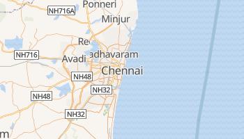 Carte en ligne de Chennai