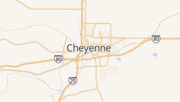 Carte en ligne de Cheyenne