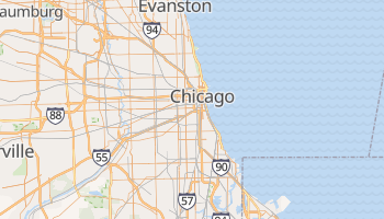 Carte en ligne de Chicago