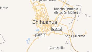 Carte en ligne de Chihuahua