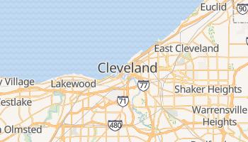 Carte en ligne de Cleveland