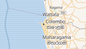 Carte en ligne de Colombo