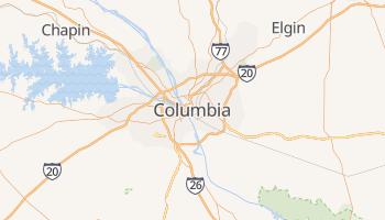 Carte en ligne de Columbia