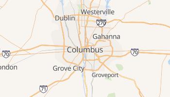 Carte en ligne de Columbus