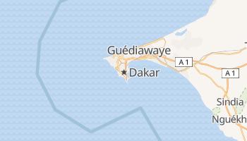 Carte en ligne de Dakar