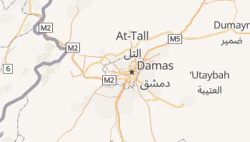 Carte en ligne de Damas
