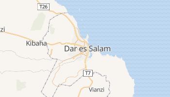 Carte en ligne de Dar es Salaam