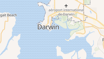 Carte en ligne de Darwin
