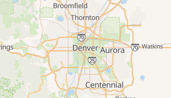 Carte en ligne de Denver