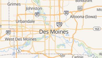 Carte en ligne de Des Moines