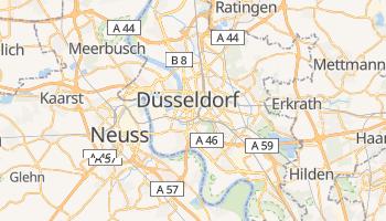 Carte en ligne de Düsseldorf