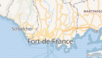 Carte en ligne de Fort-de-France
