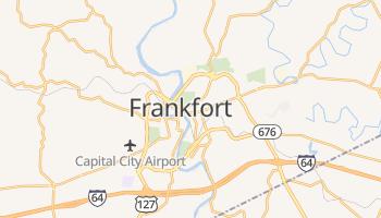 Carte en ligne de Frankfort