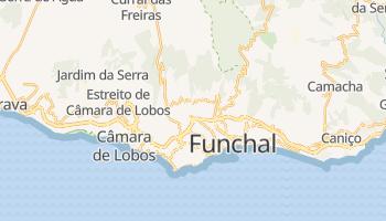 Carte en ligne de Funchal